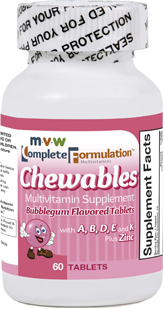 MVW Complete Formulation Chewables – Bubblegum