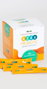 MVW Complete Formulation KIDS PROBIOTIC Dietary Supplement