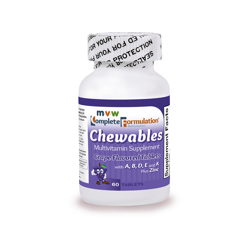 MVW Complete Formulation Standard Chewable: Grape
